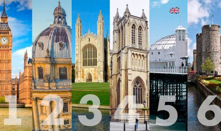 6 лучших городов для обучения в Великобритании
