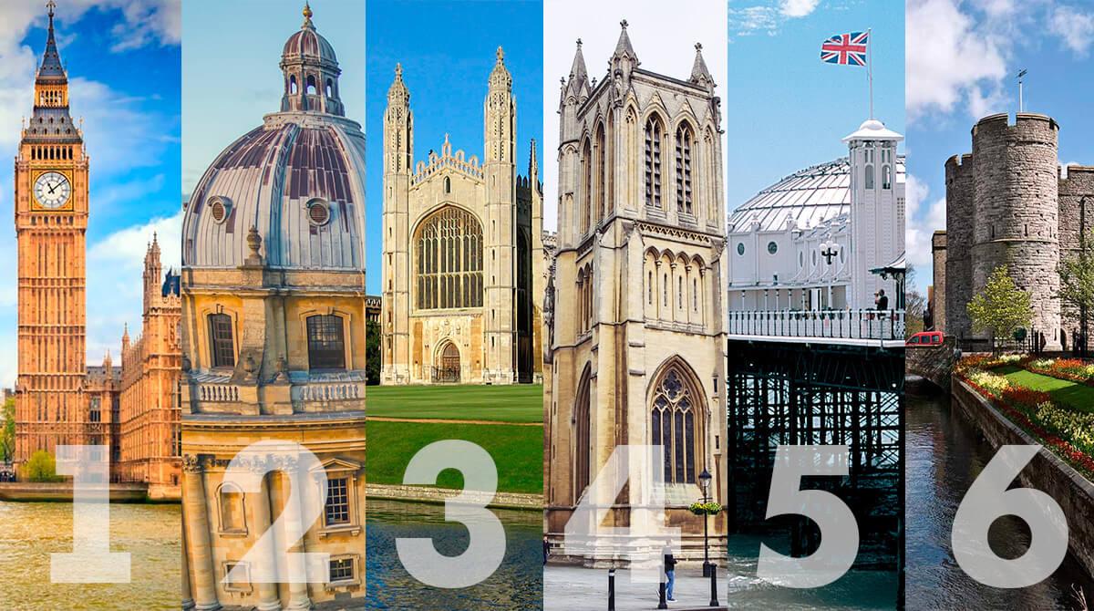Города в Великобритании для учебы